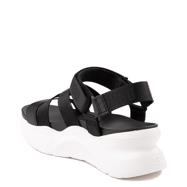 alternate view Womens UGG® LA Shores Sandal - BlackALT1