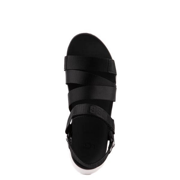 alternate view Womens UGG® LA Shores Sandal - BlackALT2