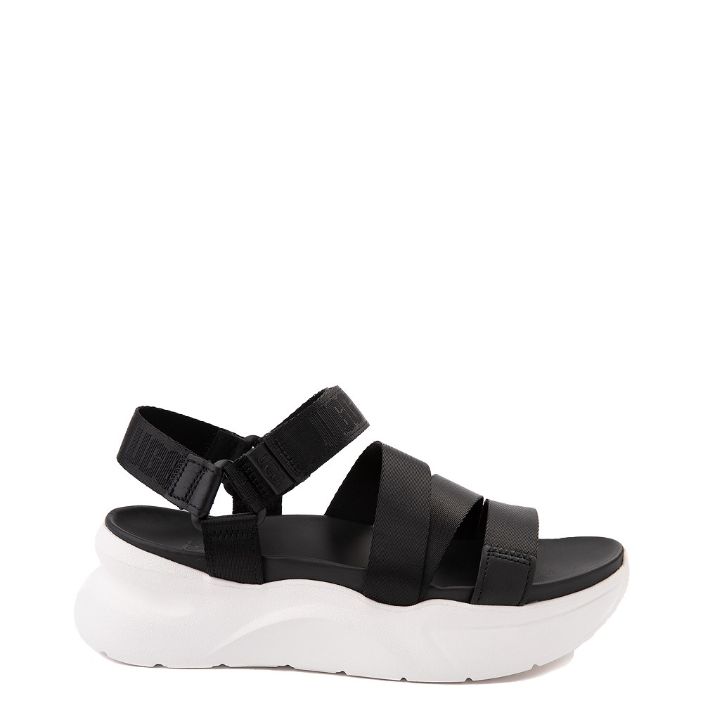 Womens UGG® LA Shores Sandal - Black