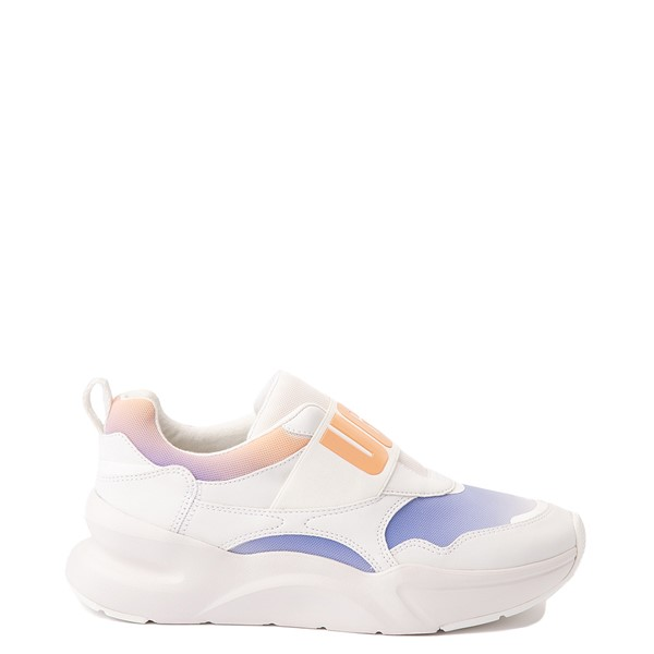 Main view of Womens UGG® LA Flex Slip On Sneaker - White / Scallop Gradient