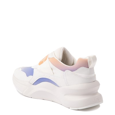 Alternate view of Womens UGG® LA Flex Slip On Sneaker - White / Scallop Gradient