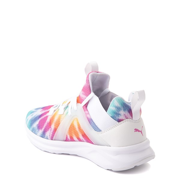 alternate view Puma Enzo 2 Athletic Shoe - Big Kid - Tie DyeALT1