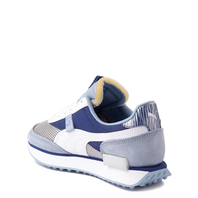 Alternate view of Puma Future Rider Athletic Shoe - Big Kid - Fireworks Blue / Silver
