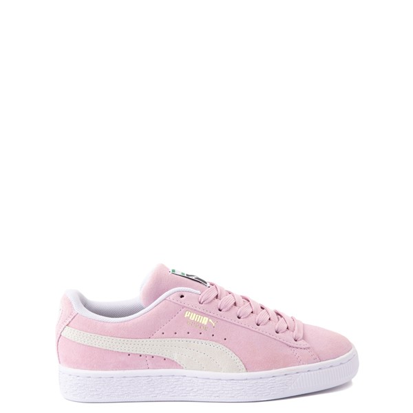 Puma Suede Athletic Shoe - Big Kid - Pink