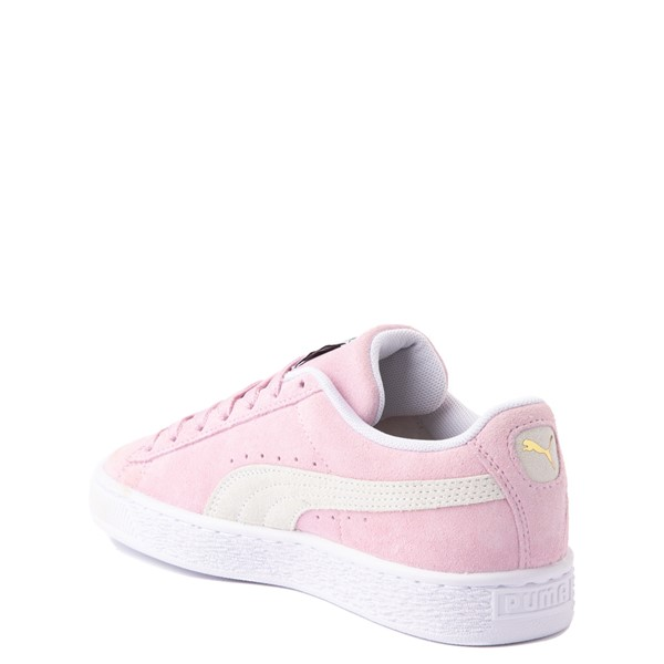 alternate view Puma Suede Athletic Shoe - Big Kid - PinkALT1