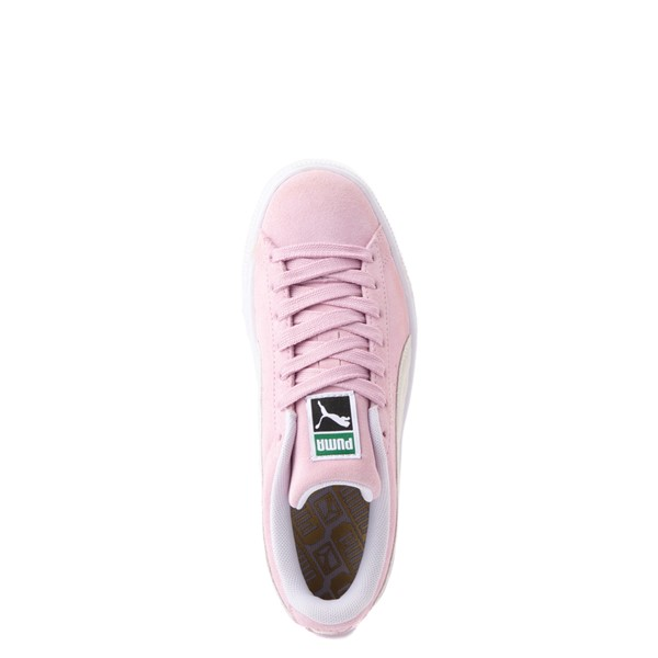 alternate view Puma Suede Athletic Shoe - Big Kid - PinkALT2