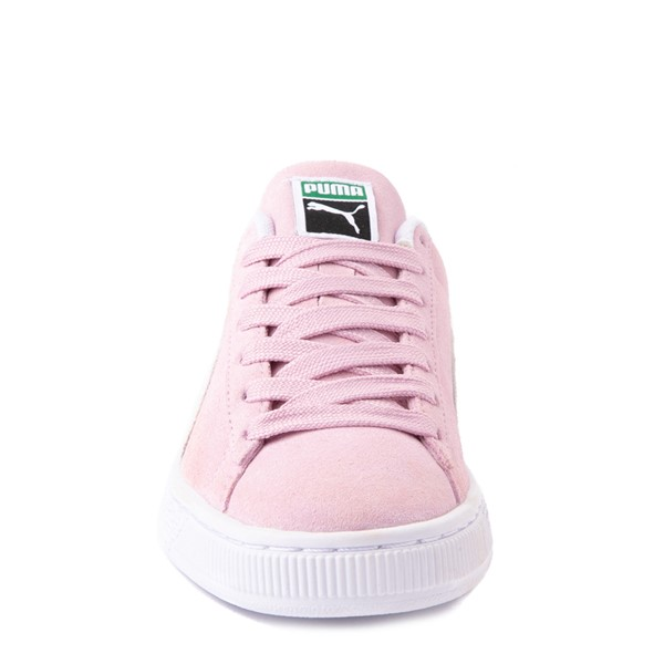alternate view Puma Suede Athletic Shoe - Big Kid - PinkALT4