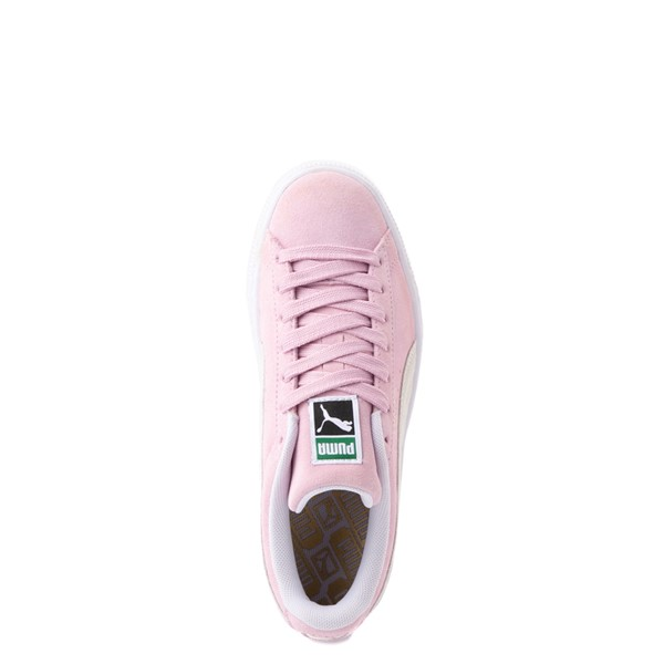 alternate view Puma Suede Athletic Shoe - Big Kid - PinkALT4B