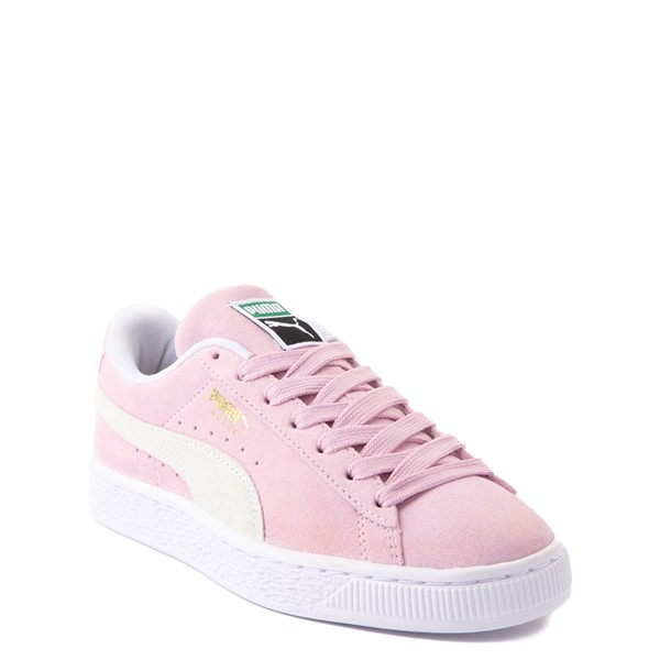 alternate view Puma Suede Athletic Shoe - Big Kid - PinkALT5