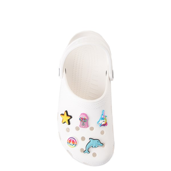 alternate view Crocs Jibbitz™ Girls Rule Shoe Charms 5 Pack - MulticolorALT1