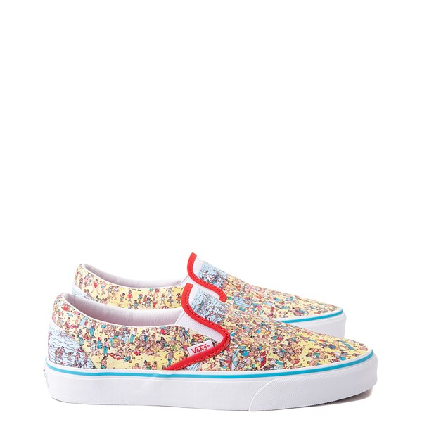 alternate view Vans x Where's Waldo Slip On Beach Skate Shoe - MulticolorALT1B