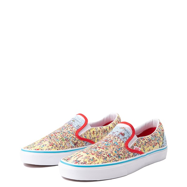 alternate view Vans x Where's Waldo Slip On Beach Skate Shoe - MulticolorALT2
