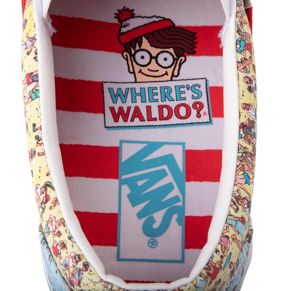 alternate view Vans x Where's Waldo Slip On Beach Skate Shoe - MulticolorALT2B