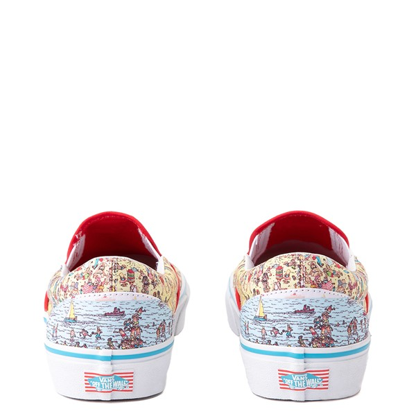 alternate view Vans x Where's Waldo Slip On Beach Skate Shoe - MulticolorALT4