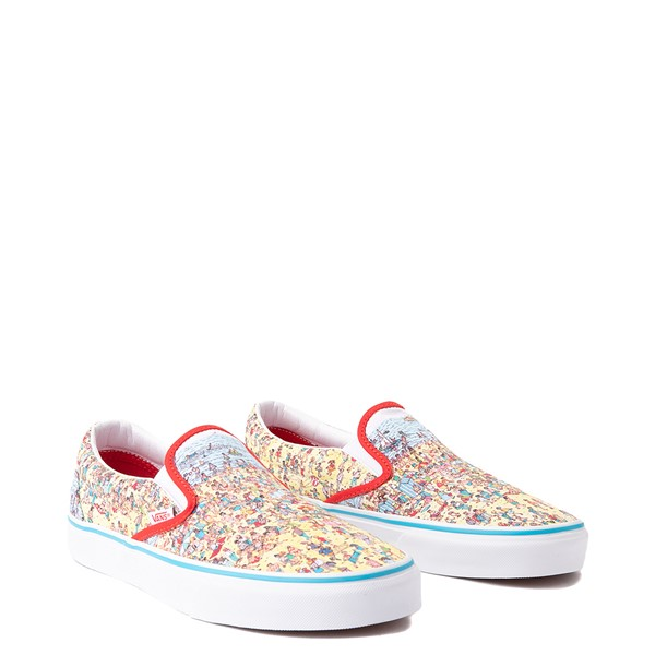 alternate view Vans x Where's Waldo Slip On Beach Skate Shoe - MulticolorALT5