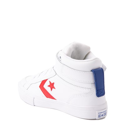 Alternate view of Converse Pro Blaze Hi Sneaker - Little Kid / Big Kid - White