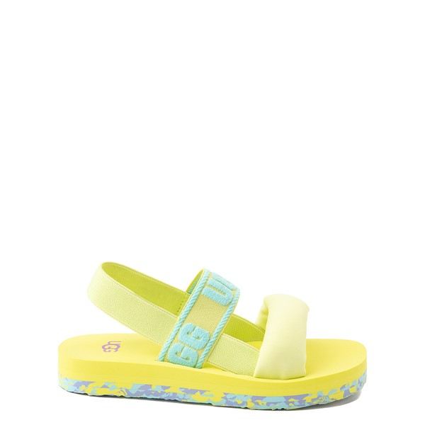 Main view of UGG® Zuma Sling Sandal - Little Kid / Big Kid - Pollen Paint Swirl