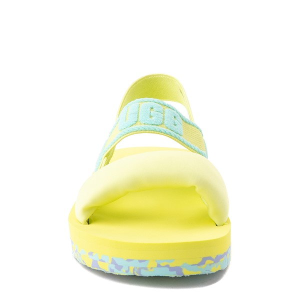 alternate view UGG® Zuma Sling Sandal - Little Kid / Big Kid - Pollen Paint SwirlALT4