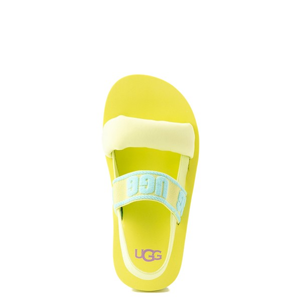 alternate view UGG® Zuma Sling Sandal - Little Kid / Big Kid - Pollen Paint SwirlALT4B