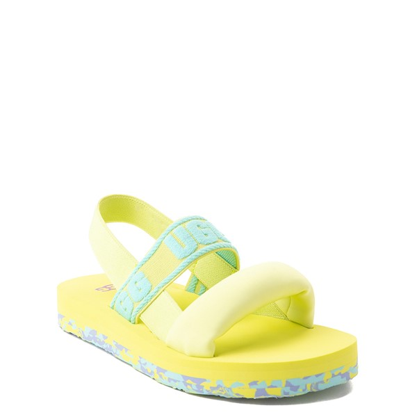 alternate view UGG® Zuma Sling Sandal - Little Kid / Big Kid - Pollen Paint SwirlALT5