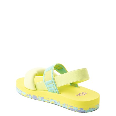 Alternate view of UGG® Zuma Sling Sandal - Little Kid / Big Kid - Pollen Paint Swirl