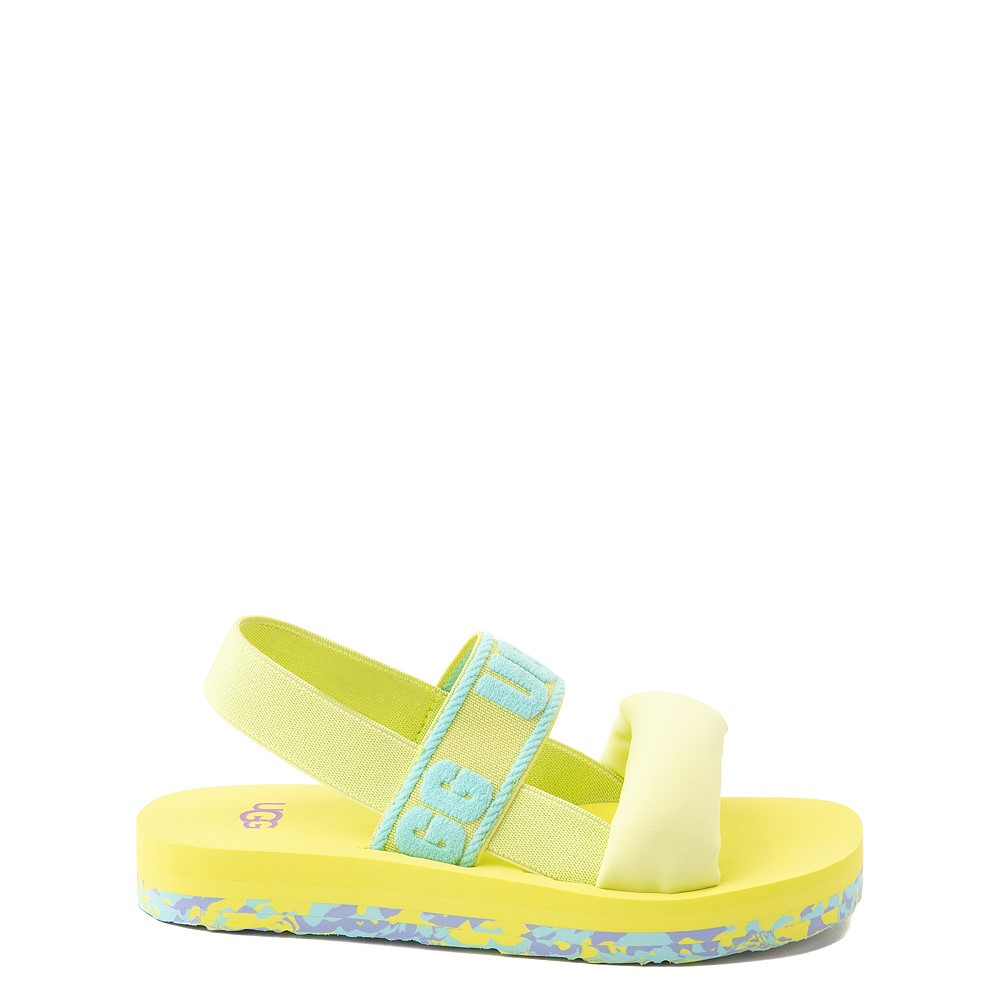 UGG® Zuma Sling Sandal - Little Kid / Big Kid - Pollen Paint Swirl