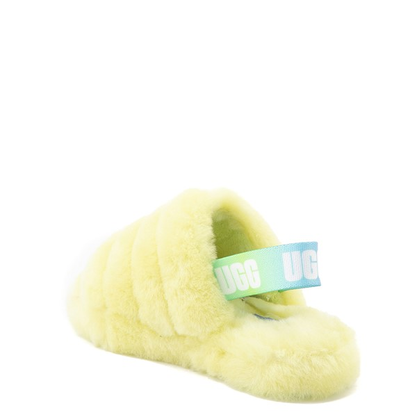 alternate view UGG® Fluff Yeah Slide Sandal - Little Kid / Big Kid - PollenALT1