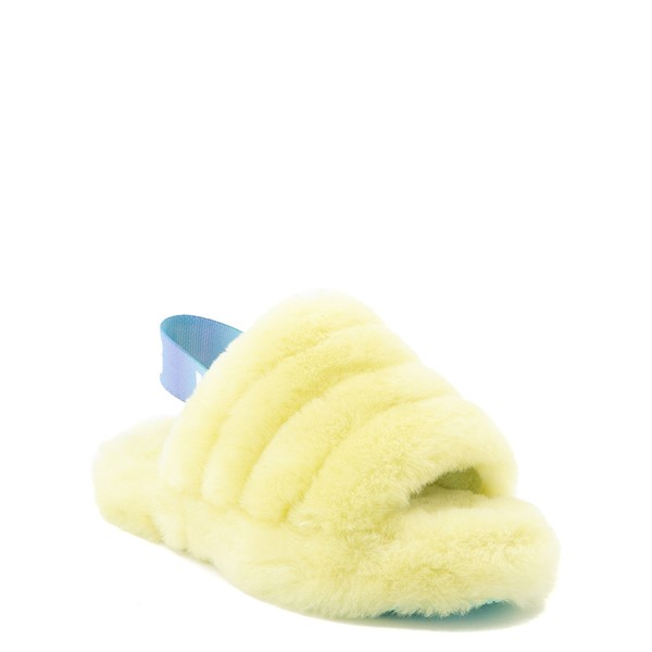 alternate view UGG® Fluff Yeah Slide Sandal - Little Kid / Big Kid - PollenALT5
