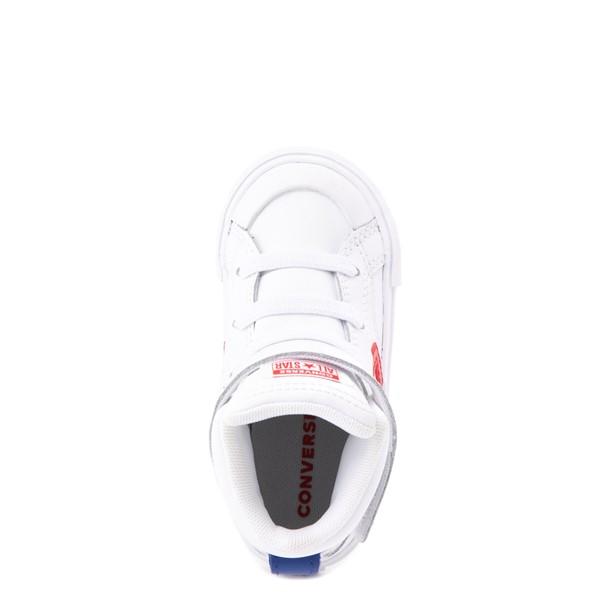 alternate view Converse Pro Blaze Hi Sneaker - Baby / Toddler - WhiteALT4B