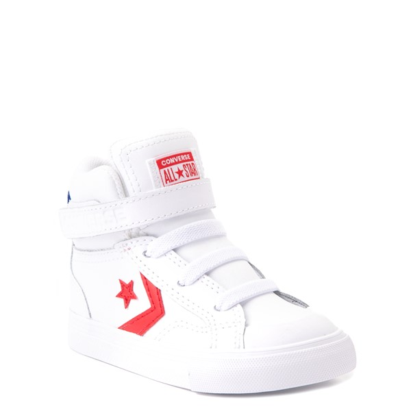 alternate view Converse Pro Blaze Hi Sneaker - Baby / Toddler - WhiteALT5