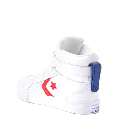 Alternate view of Converse Pro Blaze Hi Sneaker - Baby / Toddler - White