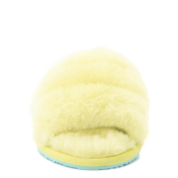 alternate view UGG® Fluff Yeah Slide Sandal - Toddler / Little Kid - PollenALT4