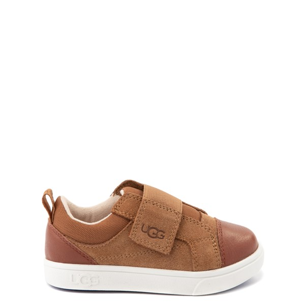 Main view of UGG® Rennon Low Casual Shoe - Toddler / Little Kid - Chestnut