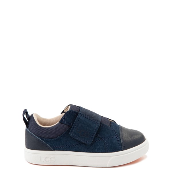 Main view of UGG® Rennon Low Casual Shoe - Toddler / Little Kid - Navy