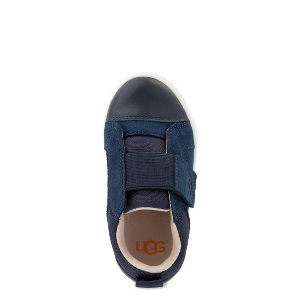 alternate view UGG® Rennon Low Casual Shoe - Toddler / Little Kid - NavyALT2