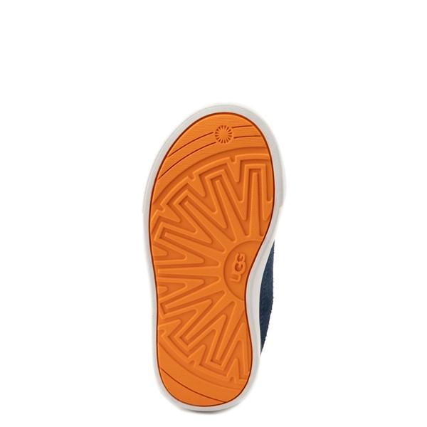 alternate view UGG® Rennon Low Casual Shoe - Toddler / Little Kid - NavyALT3