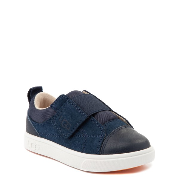 alternate view UGG® Rennon Low Casual Shoe - Toddler / Little Kid - NavyALT5