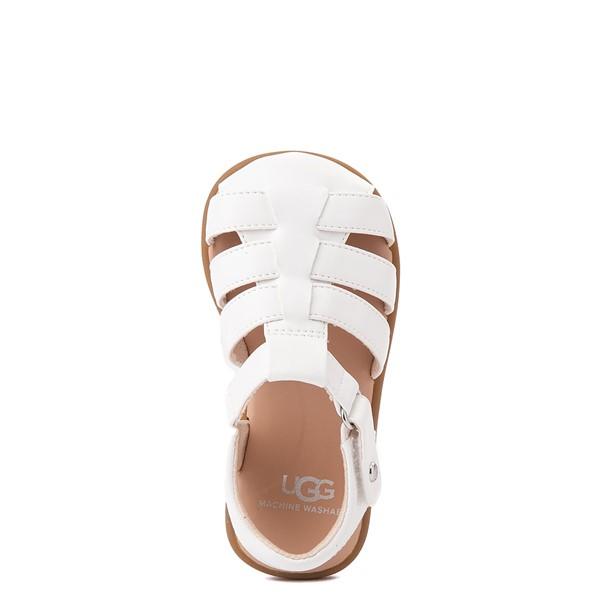 alternate view UGG® Kolding Sandal - Toddler / Little Kid - WhiteALT4B