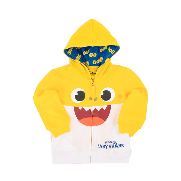 Baby Shark Hoodie - Toddler - Yellow