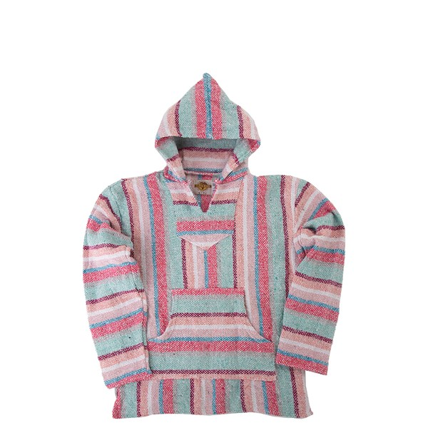 Main view of Girls Baja Poncho - Little Kid / Big Kid - Pastel Pink