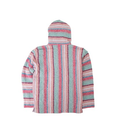 Alternate view of Girls Baja Poncho - Little Kid / Big Kid - Pastel Pink