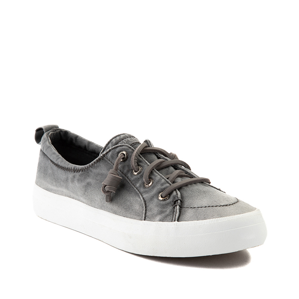 alternate view Womens Sperry Top-Sider Crest Vibe Platform Casual Shoe - Gray OmbreALT5