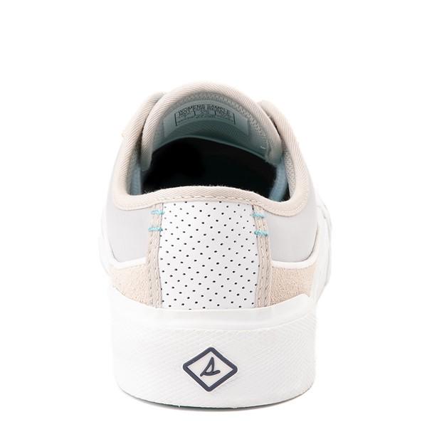 alternate view Womens Sperry Top-Sider Soletide Sneaker - White / GrayALT4