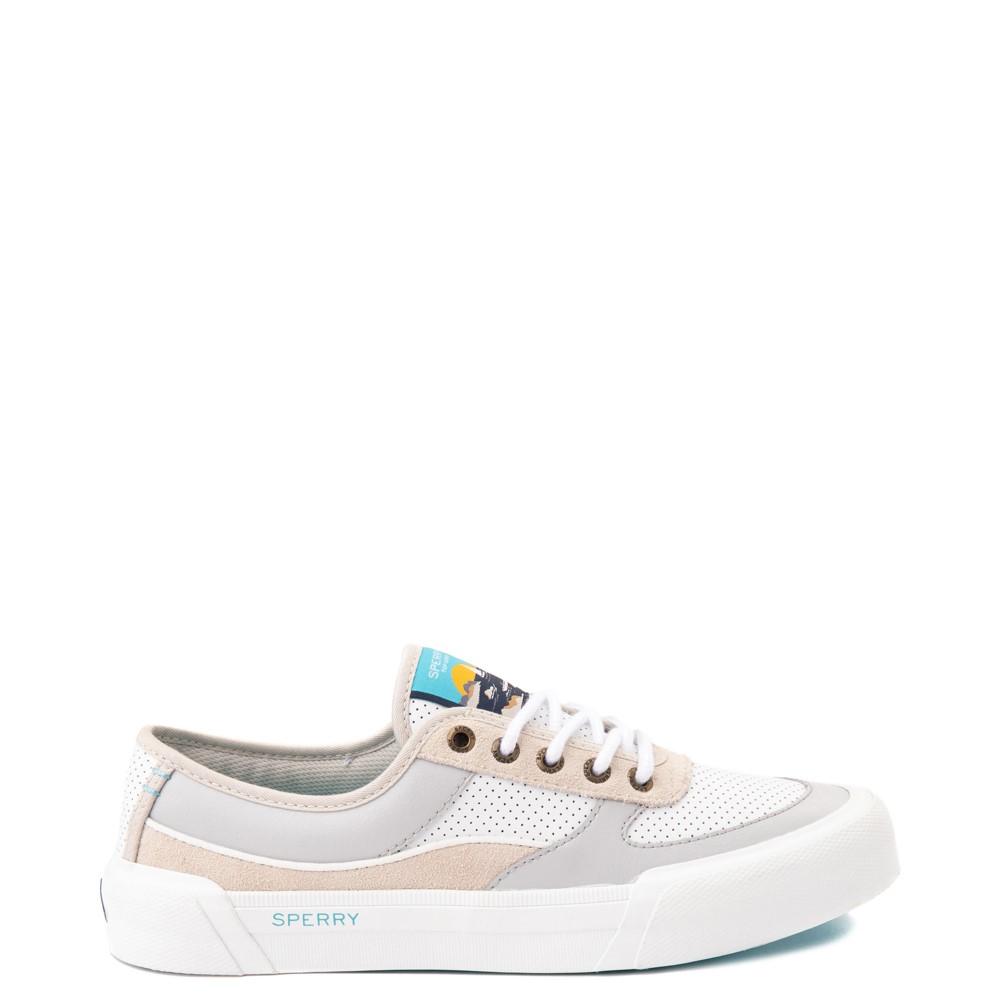 Womens Sperry Top-Sider Soletide Sneaker - White / Gray