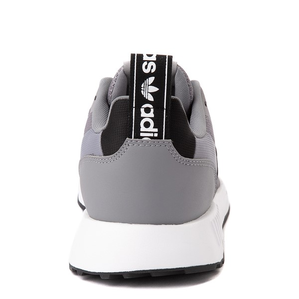 alternate view Mens adidas Multix Athletic Shoe - Gray / BlackALT2B