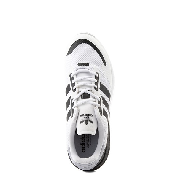 alternate view Mens adidas ZX 1K Boost Athletic Shoe - White / BlackALT4B