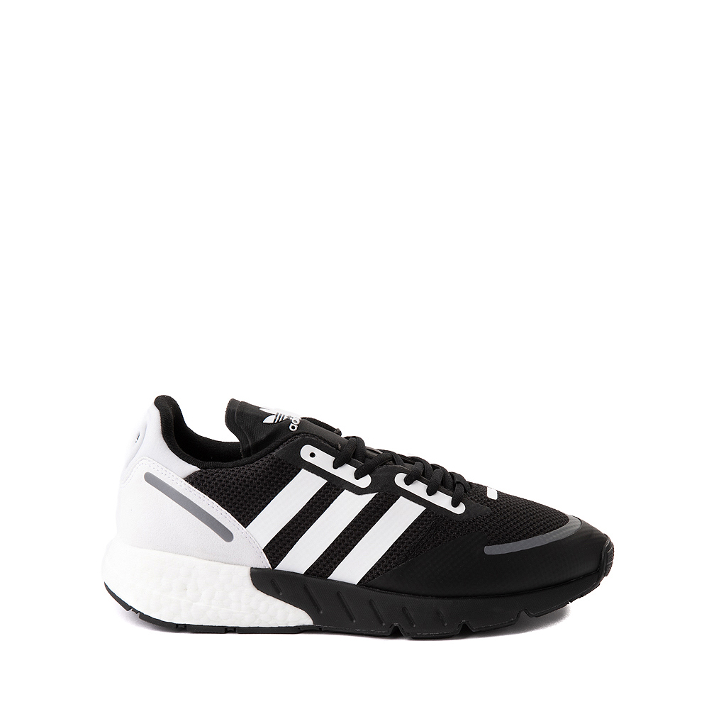 Mens adidas ZX 1K Boost Athletic Shoe - Black / White