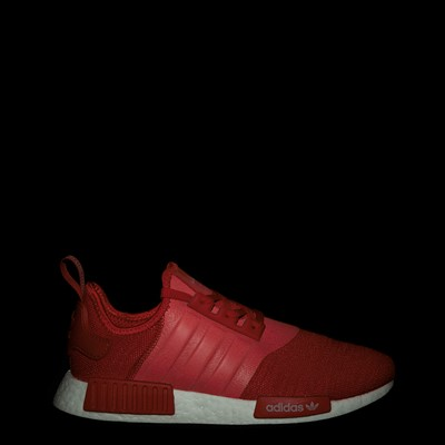 Alternate view of Mens adidas NMD R1 Athletic Shoe - Scarlet