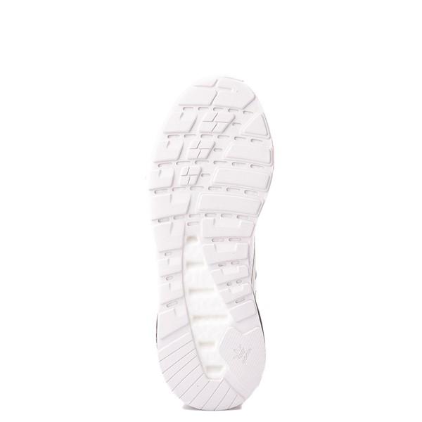 alternate view Mens adidas ZX 2K Boost Athletic Shoe - White / Solar RedALT3