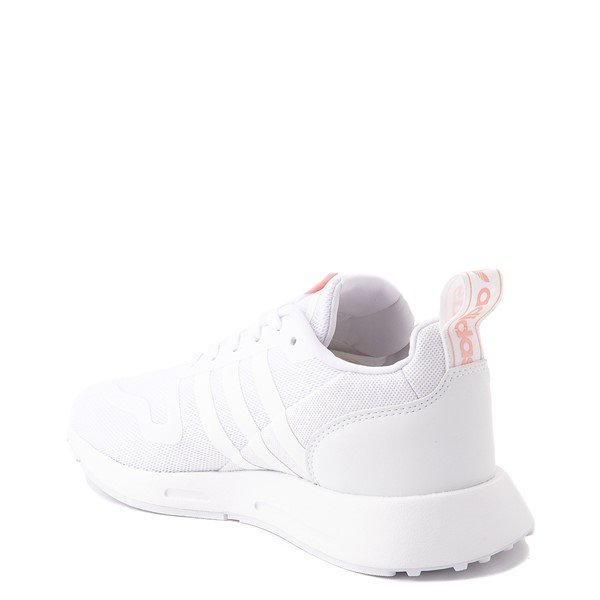 alternate view Womens adidas Multix Athletic Shoe - White / PinkALT1